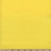 Gray Matters Small Circles Cotton Fabric - Yellow 4140408-01
