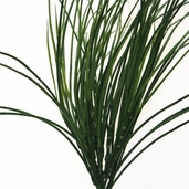 Green Grass Bush Artificial - 22in - Pkg of 3 - CLEARANCE