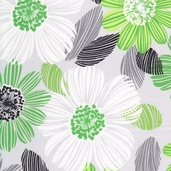 Green With Envy Cotton Fabric Collection - Grey - CLEARANCE