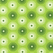 Groove Cotton Fabric - Lime