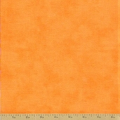 Grow with Me Cotton Fabric - Creamsicle Orange