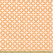 Grow with Me Cotton Fabric - Creamsicle Orange Tile