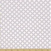 Grow with Me Cotton Fabric - Drizzle Grey Tile