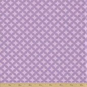 Grow with Me Cotton Fabric - Lavender Tile