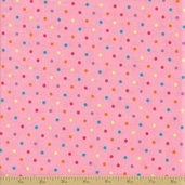 Grow with Me Cotton Fabric - Pink Dot