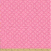 Grow with Me Cotton Fabric - Pink Tile