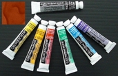 Grumbacher Academy Watercolor - Burnt Sienna  - Clearance