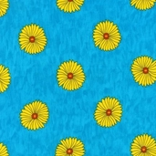 Guatemalan Flora Cotton Fabric - Bright Flowers - CLEARANCE