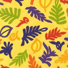 Guatemalan Flora Cotton Fabric - Jewel