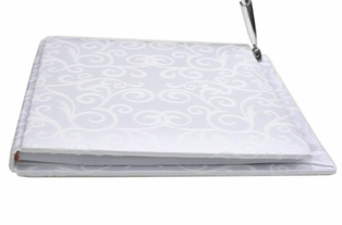 http://ep.yimg.com/ay/yhst-132146841436290/guest-book-with-pen-flocked-swirls-2.jpg