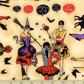 Halloween Masquerade Costume Cotton Fabric