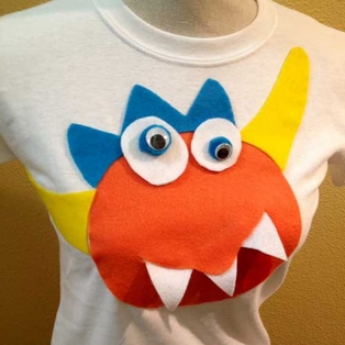 Halloween Monster T-Shirt
