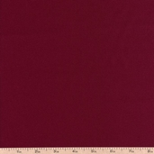 Hampton Twill Cotton Fabric - Burgundy