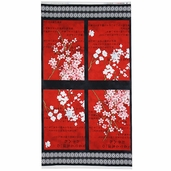 Hanami Falls Panel Cotton Fabric