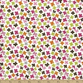Hand Picked Small Floral Cotton Fabric - 4140602-2