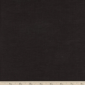 Handkerchief Linen Fabric - Black