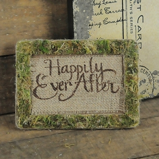 Happily Ever After Moss Frame