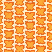 Happy Butterfly from Michael Miller Fabrics - pumpkin - Clearance