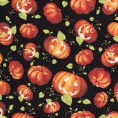 Happy Haunting Pumpkins - Black