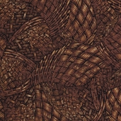 Harvest Cotton Fabric - Brown