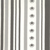 Haunted Mansion Stripe - Grey