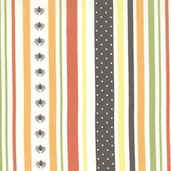 Haunted Mansion Stripe - Orange