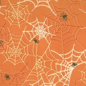 Haunted Mansion Web - Orange