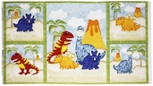 Have You Seen My Dinosaur? Panel Cotton Fabric - Sand