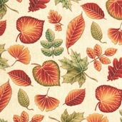 Hearth and Home Cotton Fabric - Cream - CLEARANCE