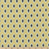 Hello Gorgeous Diamonds Cotton Fabric - Gold 35506-5