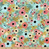 Hello Gorgeous Floral Cotton Fabric - Multi 35503-X