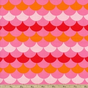 Hello Tokyo Fishscales Cotton Fabric - Sweet