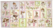 Hey Cupcake Cotton Fabric - Panel