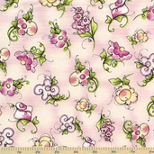 Hey Cupcake Cotton Fabrics - Pink