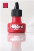 Higgins Waterproof Drawing Ink: Carmine Red