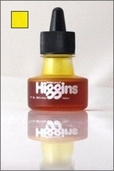 Higgins Waterproof Drawing Ink: Yellow