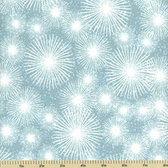 High Tide Cotton Fabric - Sea Stars - Blue 5933-BL