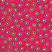 Hip Happy Cotton Fabric - Pink