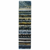 Hoffman Bali Pops Fabric Strip Bundle - River Rock
