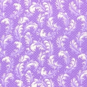 Hoffman Challenge 2012 Garden Romance - Feathers Lavender - Clearance