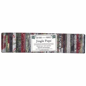 Hoffman Jingle Pops Fabric Strip Bundle - Silver