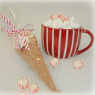 Holiday Cocoa Cones