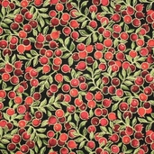 Holiday Dazzle Cotton Fabric - Black