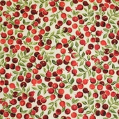 Holiday Dazzle Cotton Fabric - Ecru