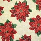 Holiday Dazzle Cotton Fabrics - Ecru