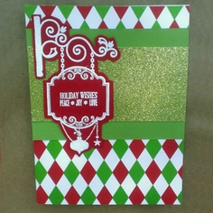 Holiday Embossed Card