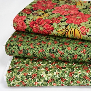 http://ep.yimg.com/ay/yhst-132146841436290/holiday-magic-poinsettia-and-ribbon-cotton-fabric-black-5.jpg