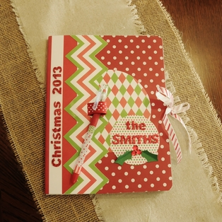 Holiday Organizer Notebook
