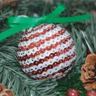 Holiday Sequin Ornament