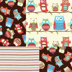 Hootenanny Organic Fabric by Timeless Treasures